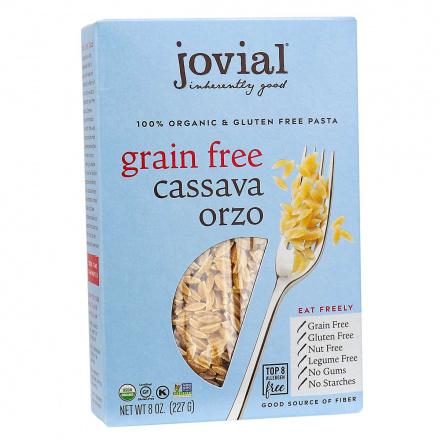 Jovial Organic Grain-Free Cassava Orzo front