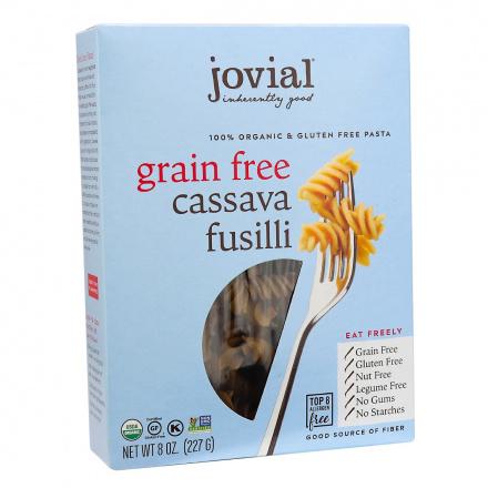Jovial Organic Grain-Free Cassava Fusilli, 227g