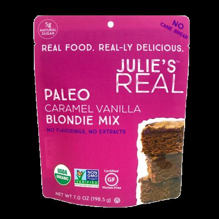 Julie's Real Grain-Free Paleo Caramel Vanilla Blondie Mix, 198g