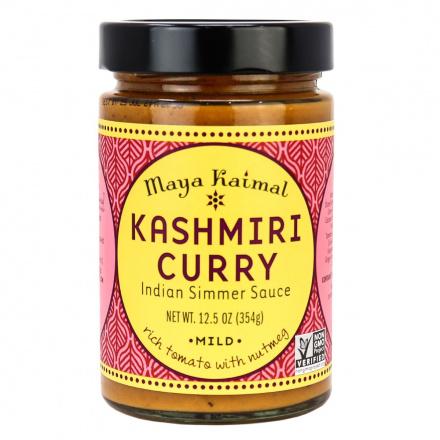 Maya Kaimal Kashmiri Curry Indian Simmer Sauce Mild, 354g