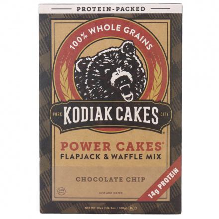 Kodiak Cakes Chocolate Chip Flapjack & Waffle Mix, 510g