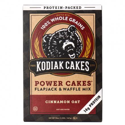 Kodiak Cakes Cinnamon Oat Power Cakes Flapjack & Waffle Mix, 567g