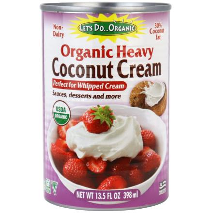 Let's Do...Organic Organic Heavy Coconut Cream, 398ml