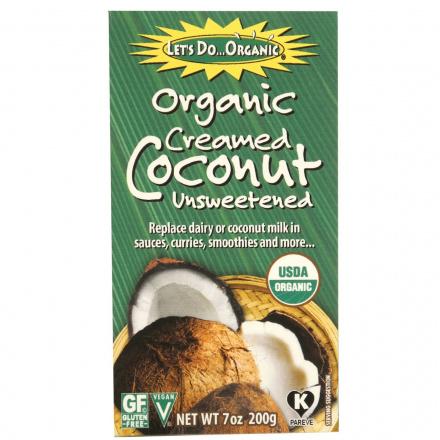 Let's Do...Organic Creamed Coconut, 200g