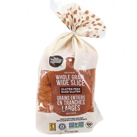 Front of Little Northern Bakehouse Whole Grain Wide Slice Gluten-Free Bread, 567g