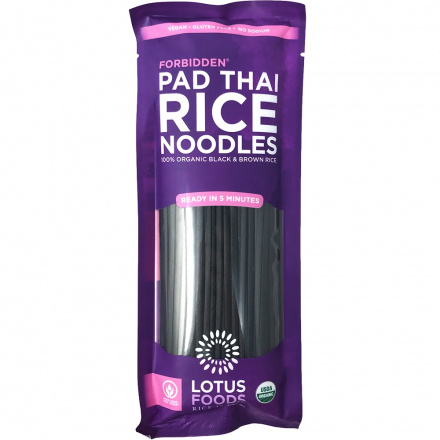 Lotus Foods Organic Forbidden Pad Thai Rice Noodles, 227g