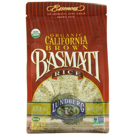 Lundberg Farms Organic California Brown Basmati Rice, 907g