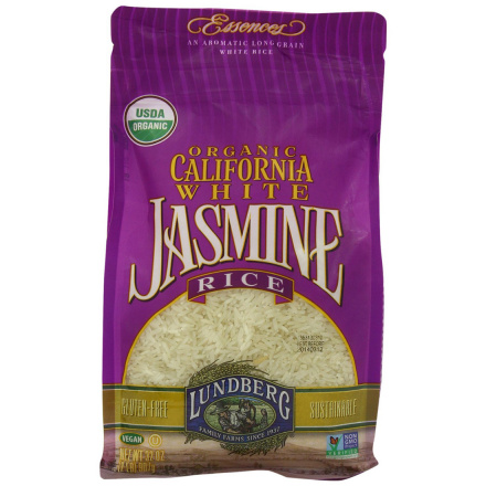 Lundberg Farms Organic California White Jasmine Rice, 907g