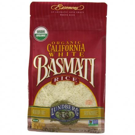 Lundberg Farms Organic California White Basmati Rice, 907g