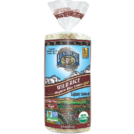 Lundberg Farms Organic Wild Rice Cake, 241g