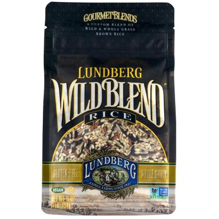 Lundberg Farms Wild Blend Natural Brown Rice, 454g