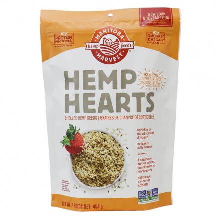Manitoba Harvest Hemp Hearts Shelled Seeds, 454g