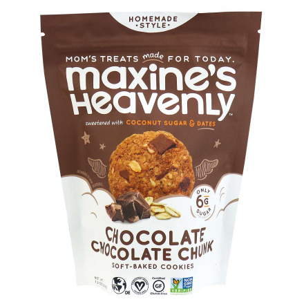 Maxine's Heavenly Gluten-Free Soft Baked Cookies Chocolate Chunk, 204g