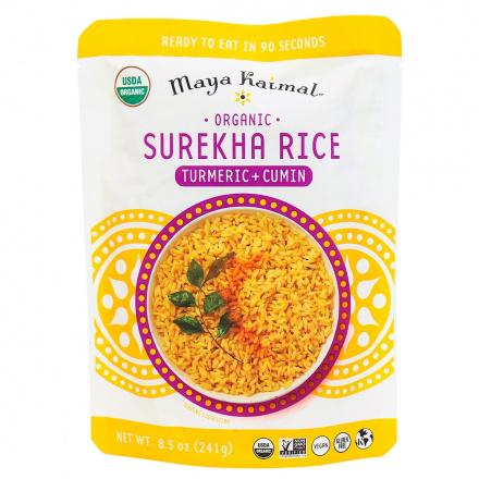 Maya Kaimal Organic Surekha Rice Turmeric + Cumin, 241g