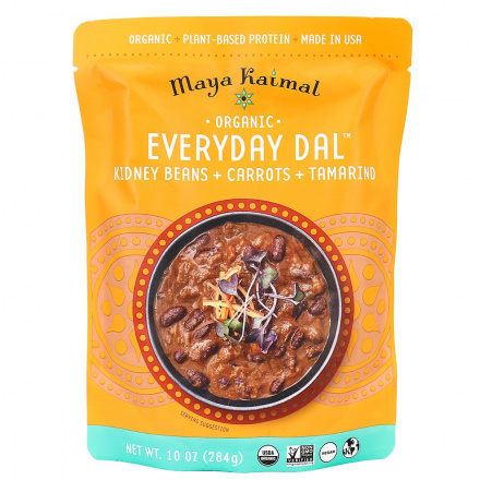 Maya Kaimal Everyday Dal (Kidney Beans, Carrots, Tamarind), 284g