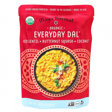 Maya Kaimal Everyday Dal (Red Lentil, Butternut Squash, Coconut), 284g