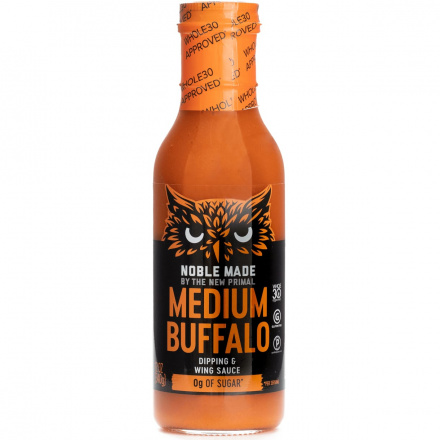 The New Primal Medium Buffalo Dipping & Wing Sauce, 340g
