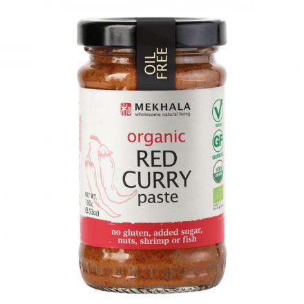 Mekhala Organic Red Curry Paste, 100g