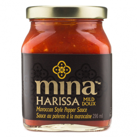 Mina Harissa Moroccan Red Pepper Sauce - Mild, 296ml