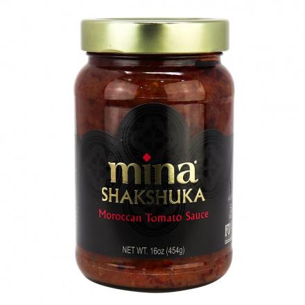 Mina Shakshuka Spiced Moroccan Tomato Sauce, 454g