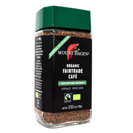 Mount Hagen Organic Instant Coffee Decaffeinated, 100g