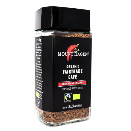 Mount Hagen Organic Instant Coffee, 100g