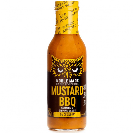 The New Primal Mustard BBQ Sauce, 340g