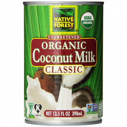 Native Forest Organic Coconut Milk Unsweetened, 400ml