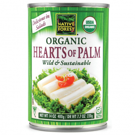 Native Forest Organic Hearts of Palm, 400g
