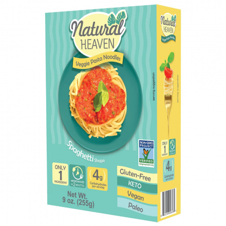 Natural Heaven Veggie Spaghetti Made with Palm Hearts, 255g
