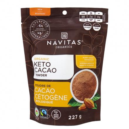 Navitas Organics Organic Keto Cacao Powder, 227g