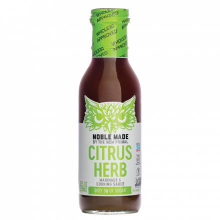 The New Primal Citrus Herb Marinade & Cooking Sauce, 355ml
