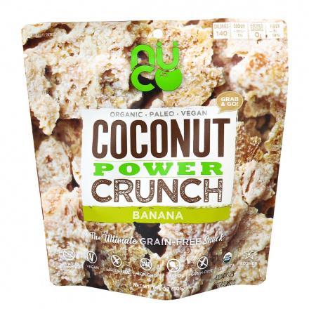 Nuco Coconut Power Crunch Banana, 30g