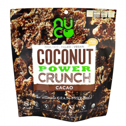 Nuco Coconut Power Crunch Cacao, 30g