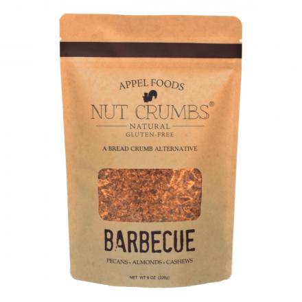 Appel Foods Nut Crumbs Gluten-Free Bread Crumbs Barbecue, 226g