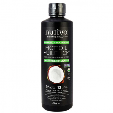 Nutiva Organic MCT Oil, 473ml