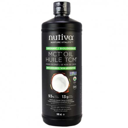 Nutiva Organic MCT Oil, 946ml