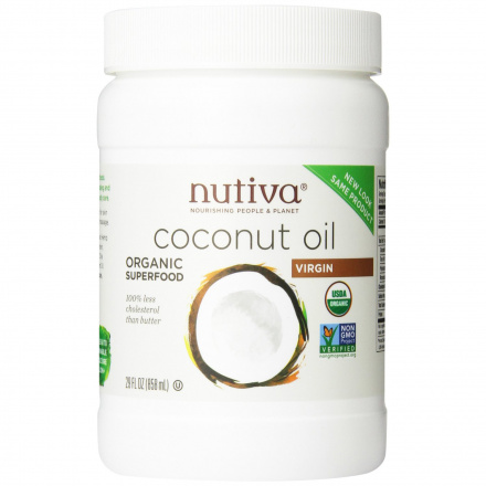 Nutiva Organic Virgin Coconut Oil, 860ml