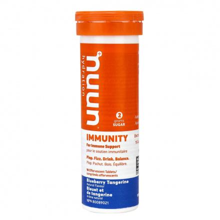 Nuun Immunity Electrolyte Supplement Blueberry Tangerine, 10 Tablets