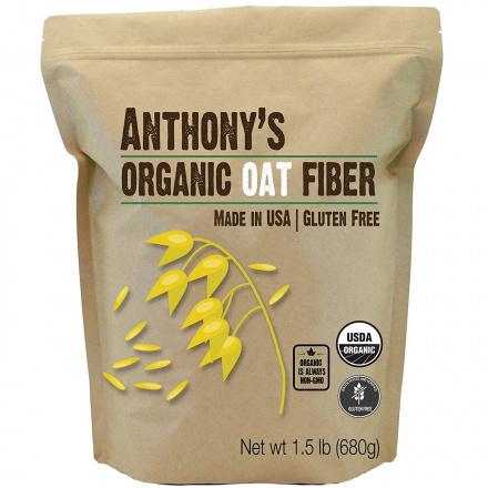 Anthony's Organic Oat Fiber, 680g