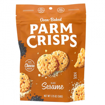 ParmCrisps Toasted Sesame Cheese Crisps, 50g pouch