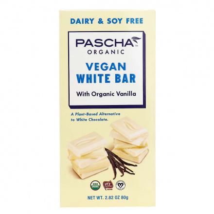 Pascha Organic Vegan White Bar, 80g