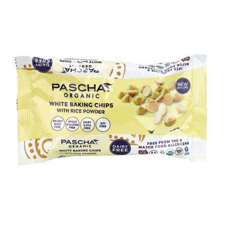 Pascha Organic Vegan White Baking Chips, 200g