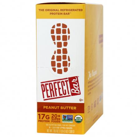 Perfect Bar Protein Bar Peanut Butter, 8 Bars