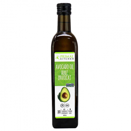 Front of Primal Kitchen Avocado Oil, 500ml