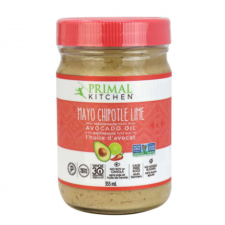 Front of Primal Kitchen Chipotle Lime Mayo with Avocado Oil, 355ml