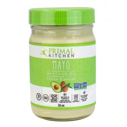 Front of Primal Kitchen Avocado Oil Mayo, 355ml