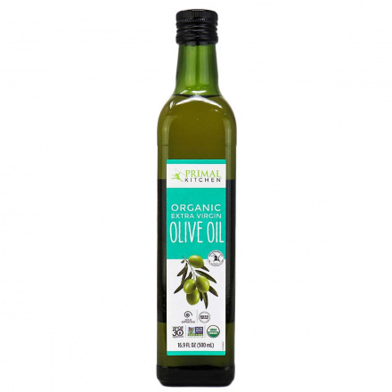 Primal Kitchen Organic Extra Virgin Olive Oil, 500ml