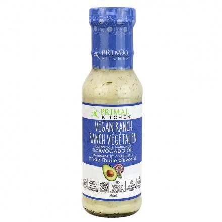 Front of Primal Kitchen Vegan Ranch Dressing, 236ml