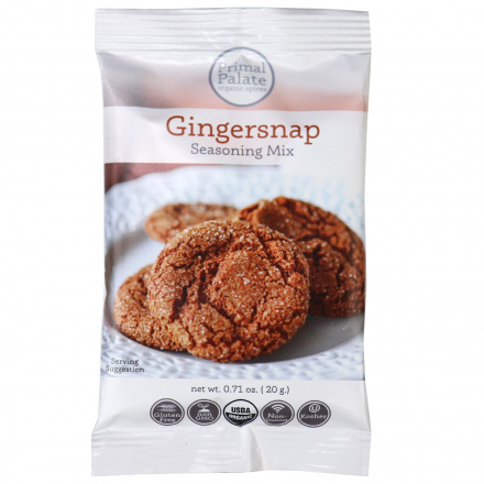 Primal Palate Organic Spices Gingersnap, 20g